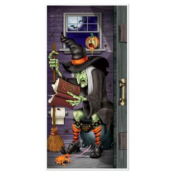 Witch Restroom Door Cover picture