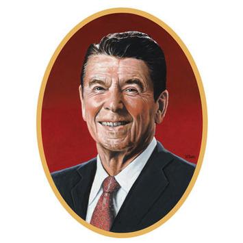 Reagan Cutout picture