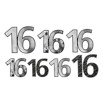 """""""16"""" Foil Cutouts picture"""