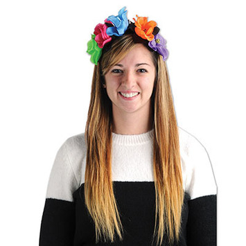 Day Of The Dead Flower Headband picture