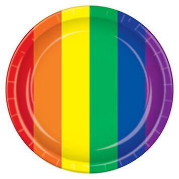 Rainbow Plates picture