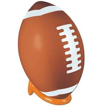 Inflatable Football & Tee Set picture