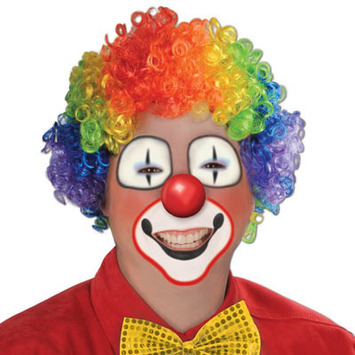 Rainbow Clown Wig picture