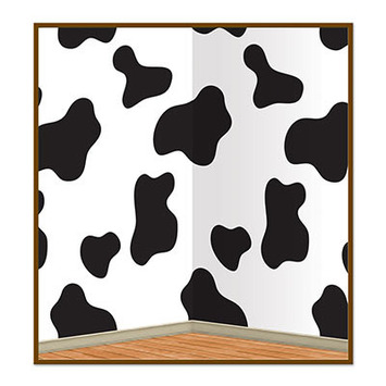 Cow Print Backdrop picture
