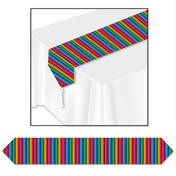 Printed Fiesta Table Runner picture