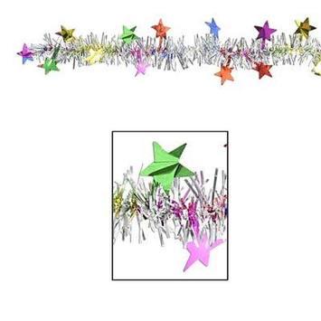 FR Metallic Star Garland picture