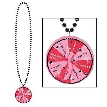 Beads w/Bachelorette Spinner Medallion picture