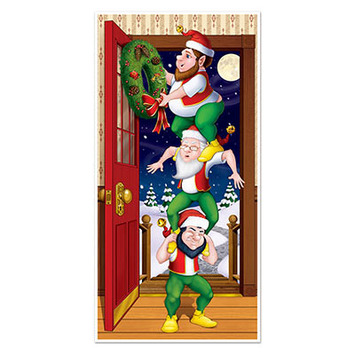 Christmas Elves Door Cover picture