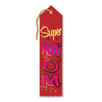 Super Mom Award Ribbon picture