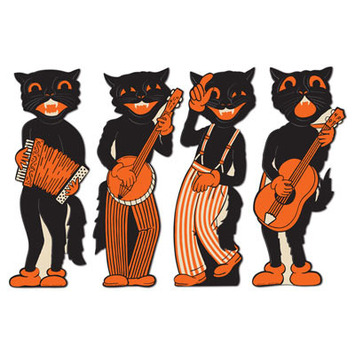 Scat Cat Band Cutouts picture