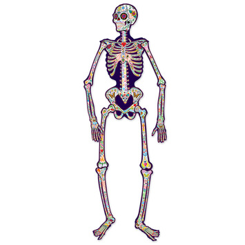 Jointed Day Of The Dead Skeleton picture
