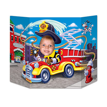 Fire Truck Photo Prop picture