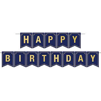 Foil Happy Birthday Streamer picture