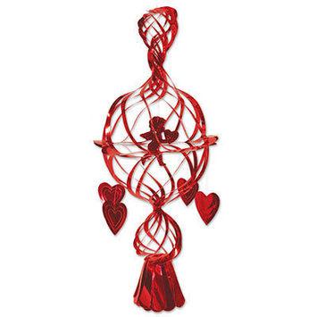 Metallic Cupid & Heart picture