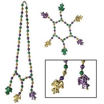Mardi Gras Beads Choker/Bracelet Set picture