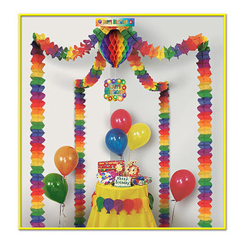Happy Birthday Party Canopy picture