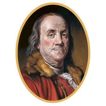 Ben Franklin Cutout picture