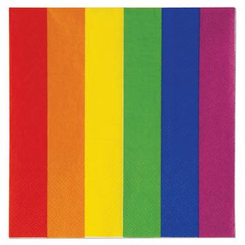 Rainbow Luncheon Napkins picture