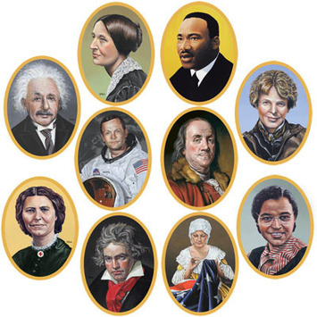 Faces In History Cutouts picture