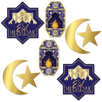 Foil Ramadan Cutouts picture
