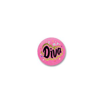 Diva Satin Button picture