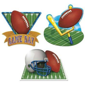 Game Day Football Cutouts picture