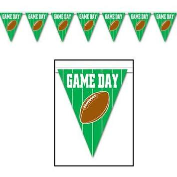 Game Day Football  Pennant Banner picture