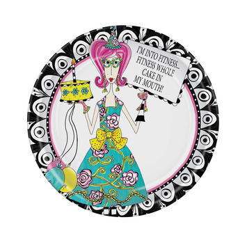 Dolly Mama's Adult Celebration Plates picture