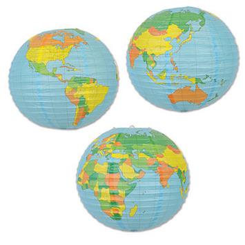 Globe Paper Lantern picture