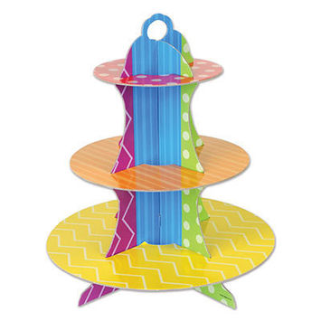 Dots & Stripes Cupcake Stand picture