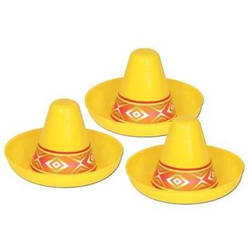 Miniature Yellow Plastic Sombrero picture