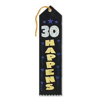30 Happens Award Ribbon picture