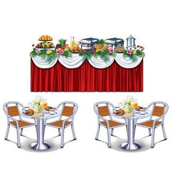 Cruise Ship Buffet Props picture
