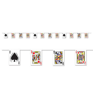 Playing Card Pennant Banner picture
