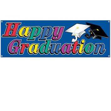 Happy Graduation Sign Banner picture