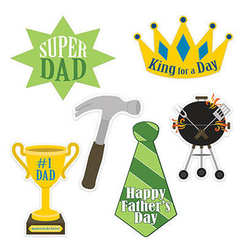 Father's Day Cutouts picture