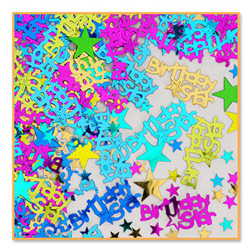 Birthday Star Confetti picture