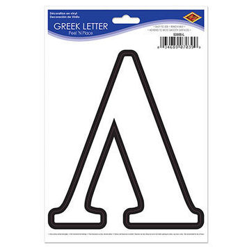 Greek Letter Peel 'N Place picture