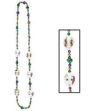 Mardi Gras Mime Beads picture