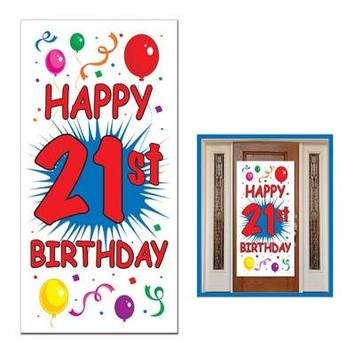 21st Birthday Door Cover picture
