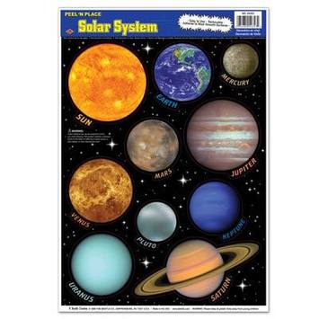 Solar System Peel 'N Place picture