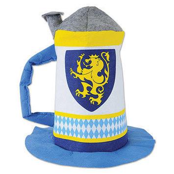 Felt Beer Stein Hat picture