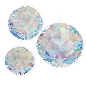 Iridescent Honeycomb Balls picture