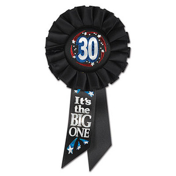 30 It's The Big One Rosette picture