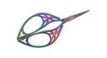 HiyaHiya Rainbow Scissors - Art Deco