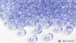 Miyuki 6/0 Glass Beads 159L - Transparent Light Cornflower Blue approx. 30 grams