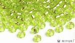 Miyuki 8/0 Glass Beads 14 - Silverlined Chartreuse approx. 30 grams