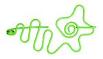 Nirvana Flower Shawl Pin - Lime
