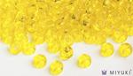 Miyuki 8/0 Glass Beads 136 - Transparent Yellow approx. 30 grams