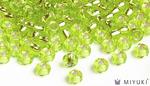Miyuki 6/0 Glass Beads 14 - Silverlined Chartreuse approx. 30 grams